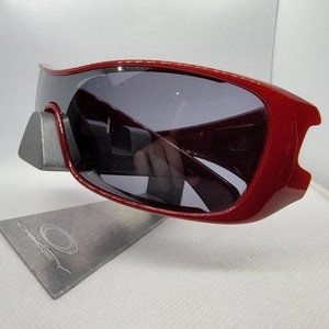 OAKLEY 03-704 ANTIX Metallic Red Sunglasses